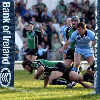 Connacht Have Slice Of Luck Against Blues