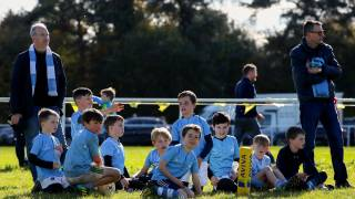 Minis Rugby team group