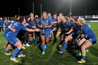 Leinster Win the Women's INterpros