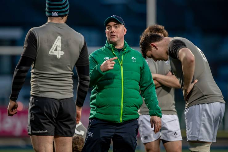 Lennon Praises Front Five As Ireland Club XV Celebrate Dalriada Cup Success
