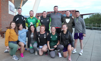 Irish Rugby TV: IRFU Volkswagen Tag Rugby Comes To UL