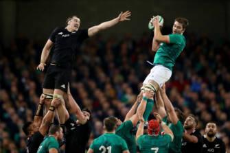 Head-To-Head: Ireland v New Zealand