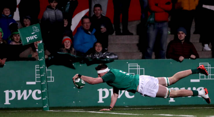 Maximum Points For Ireland Under-20s In Six Nations Opener