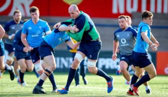 Ireland Senior & Under-20 Squads Train Together In Cork