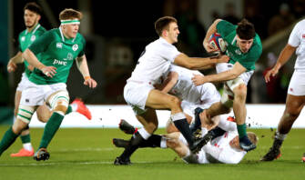 McCann And Ahern Lead Ireland Under-20s To Six-Try Victory