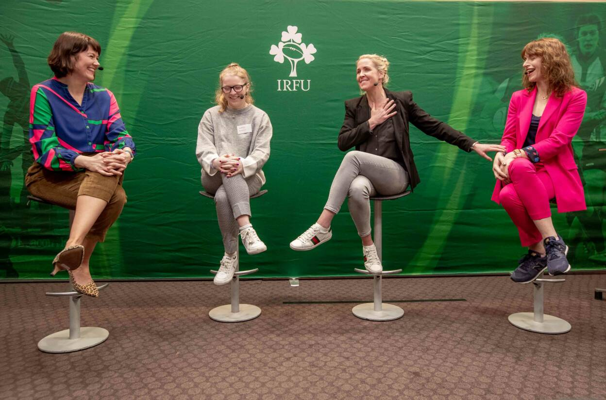 Irish Rugby Celebrates International Women's Day With LiveWIRe: Women In Rugby Conference