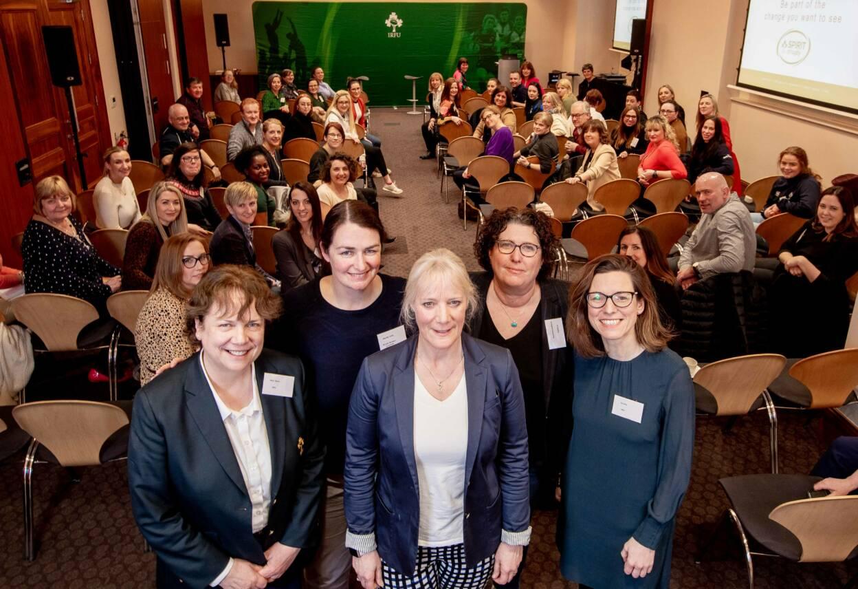 IRFU Launch Women In Rugby Leadership Programme