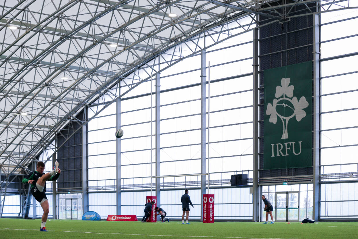 Ireland Rugby Squad Training, IRFU High Performance Centre, Sport Ireland Campus, Blanchardstown, Dublin 30/1/2020 Luke McGrath Mandatory Credit ©INPHO/Brian Reilly-Troy