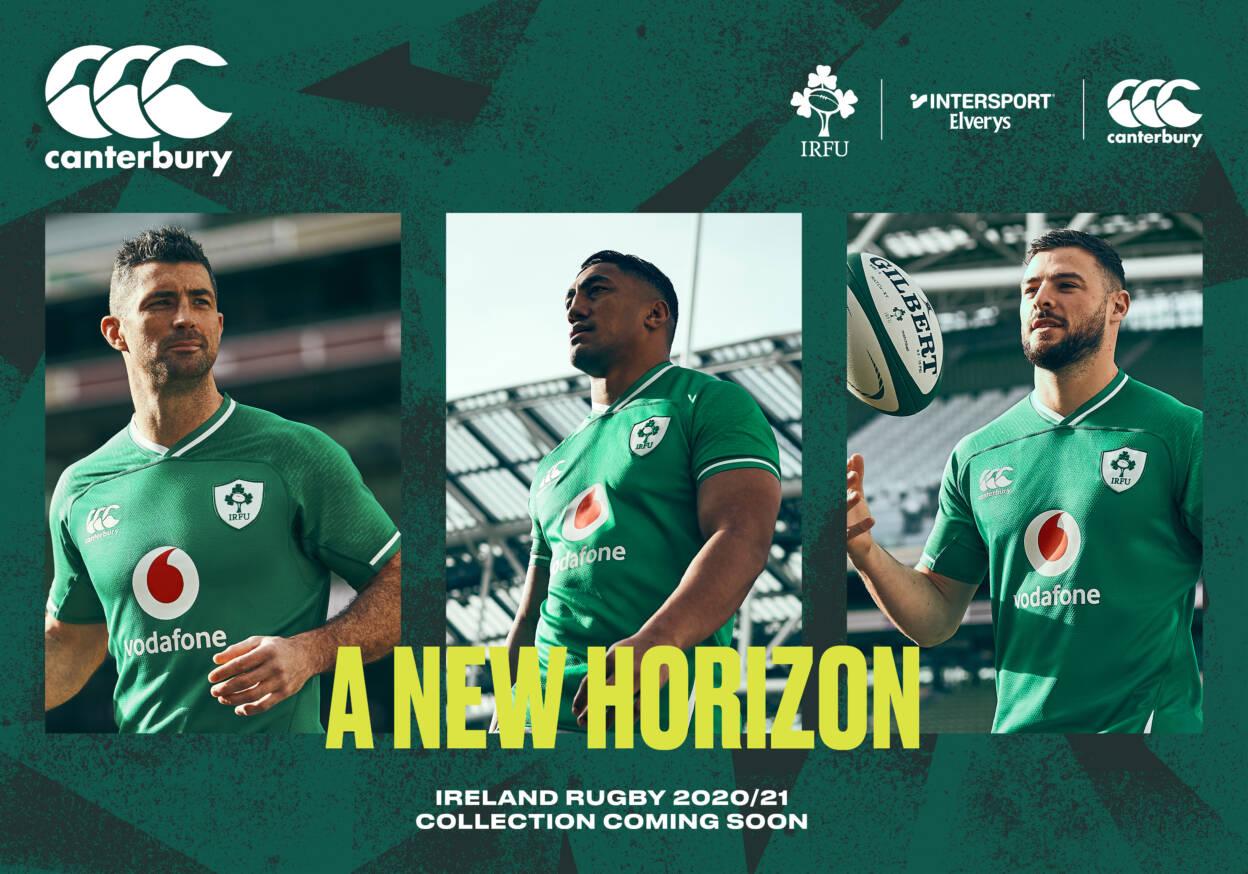Canterbury Renews Irish Rugby Football Union Partnership Until 2024