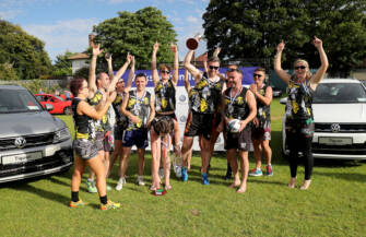 IRFU Volkswagen Tag Rugby Is Back!