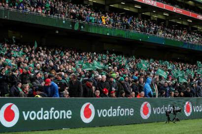 Ticket Details For Ireland's Autumn Nations Series Tests At Aviva Stadium