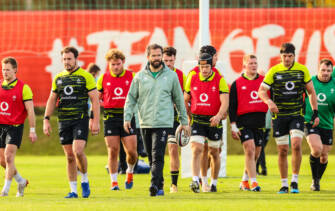 'We Want To Develop Our Squad Depth' – Andy Farrell