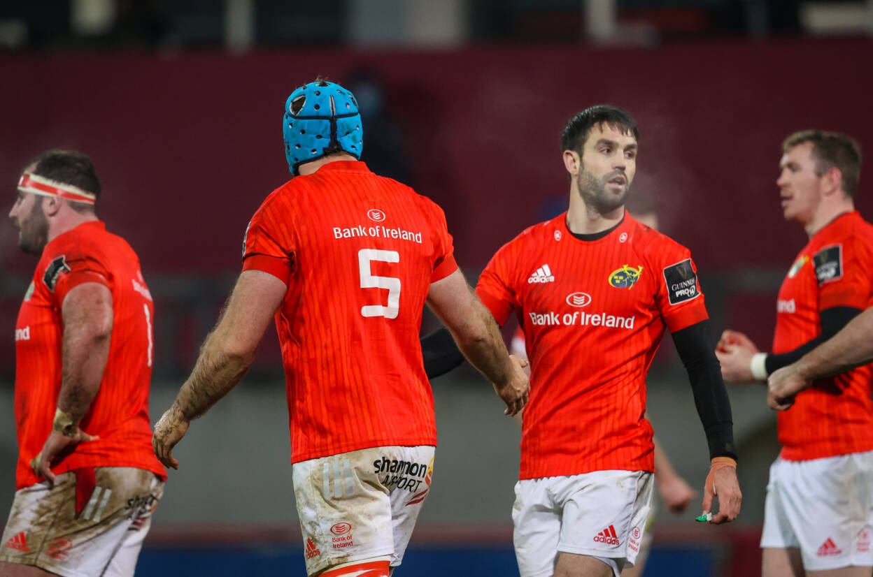 Lions Duo Included For Munster's Clash With Ulster