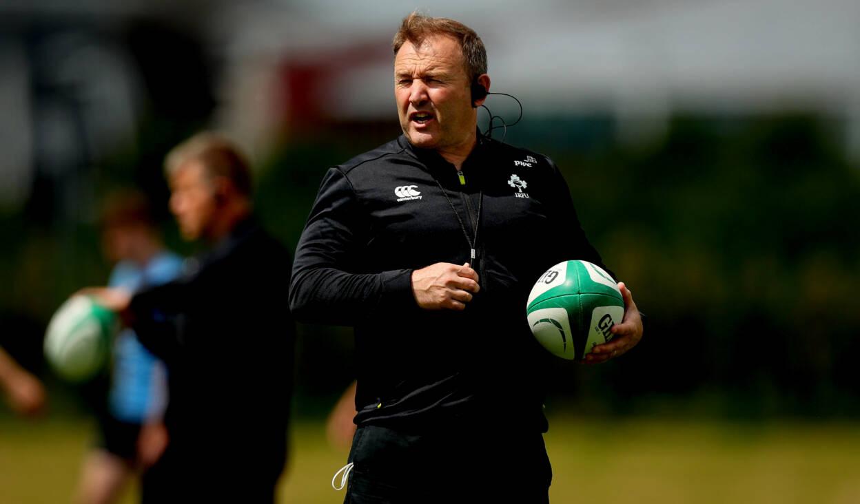 Richie Murphy On Ireland's U20 Six Nations Preparations