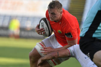 Coombes Chalks Up Four Tries As Munster Finish Strongly