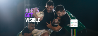IRFU Supporting Sport Ireland & Sporting Pride #LetsGetVisible Campaign