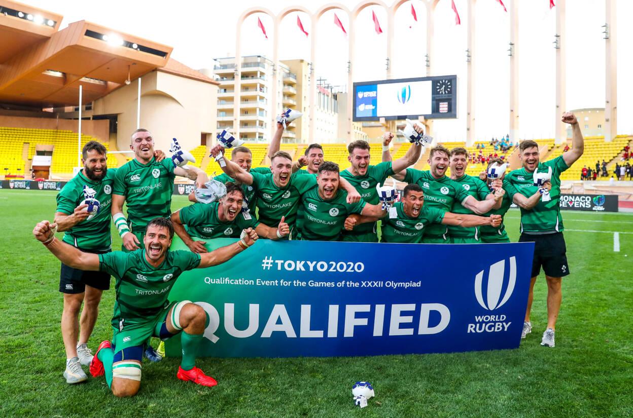 Ireland Men's Sevens Secure Historic Olympic Qualification In Monaco
