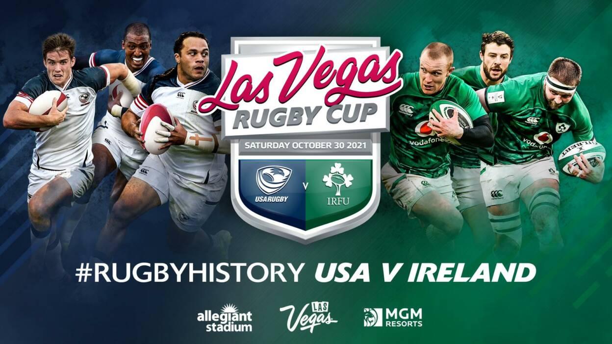 Ireland To Take On US Eagles In Las Vegas