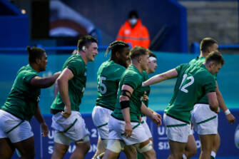 Five-Try Triumph Keeps Ireland Under-20s On Track