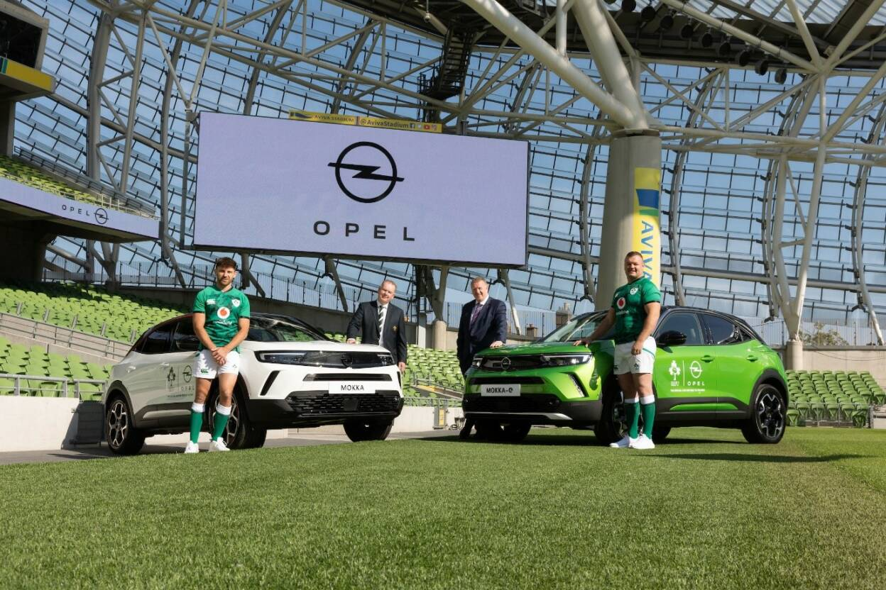 Opel Drives Three Year Sponsorship Deal With IRFU