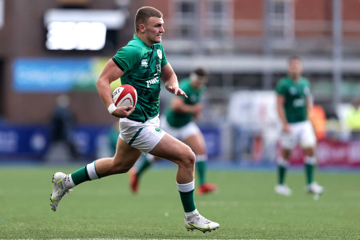 'It's All To Play For' As Moxham Gears Up For Ireland-England Clash