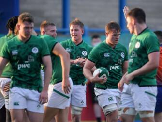 Ireland's Winning Run Ended In U-20 Six Nations