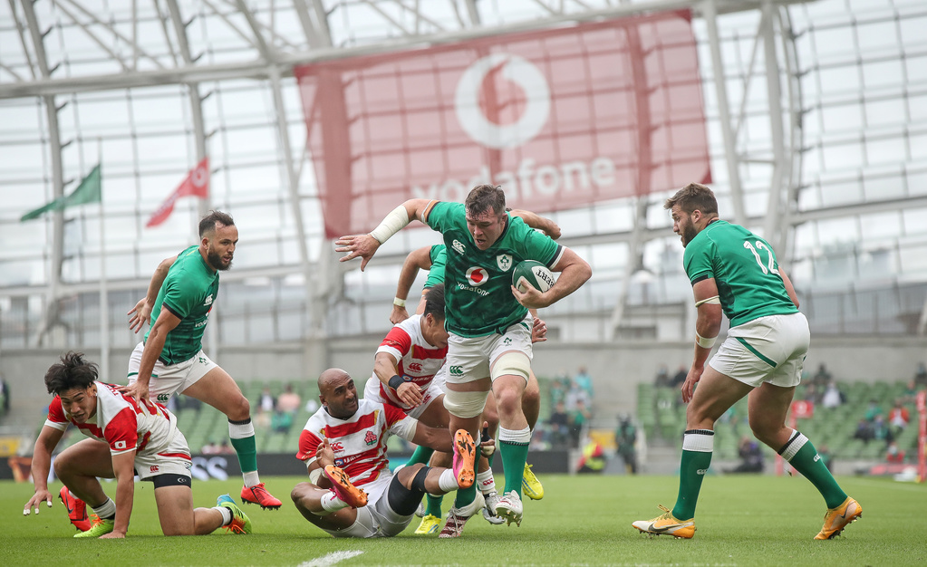 Ireland Switch Focus As The Eagles Have Landed