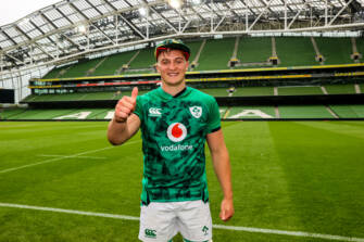 Ireland Debut 'A Dream Come True' For Gavin Coombes