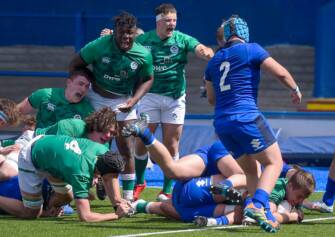 Ireland U-20s Overhaul Italy With Strong Second Half