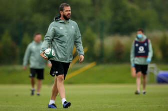 Farrell Willing New Caps To 'Put Best Foot Forward'
