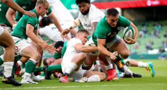 Ten Try Ireland Finish Season In Style