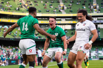 Baloucoune And Hume Thrilled With First Cap Experience