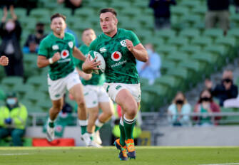 Kelleher Equals Try Record As New-Look Ireland Shine