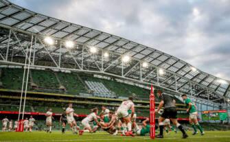 Pitch Cam Exclusive: Ireland v USA