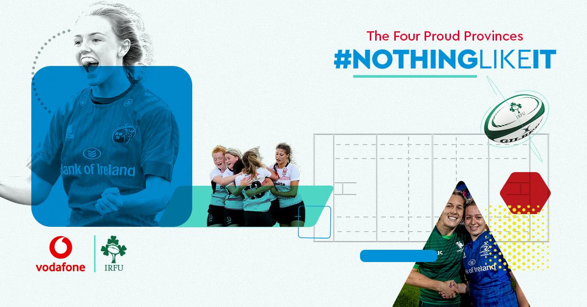 #NothingLikeIt – Vodafone Women's Interprovincial Championship Fixtures Confirmed