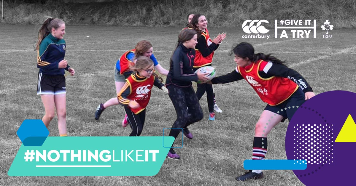 #NothingLikeIt – Canterbury Give It A Try A Boost To Rugby For Women And Girls In Carlingford