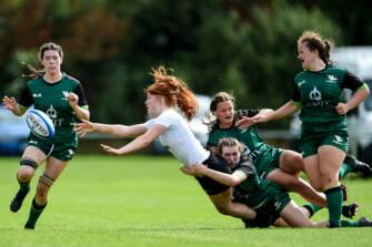 Ulster U-18 Women Battle Hard For Closing Win