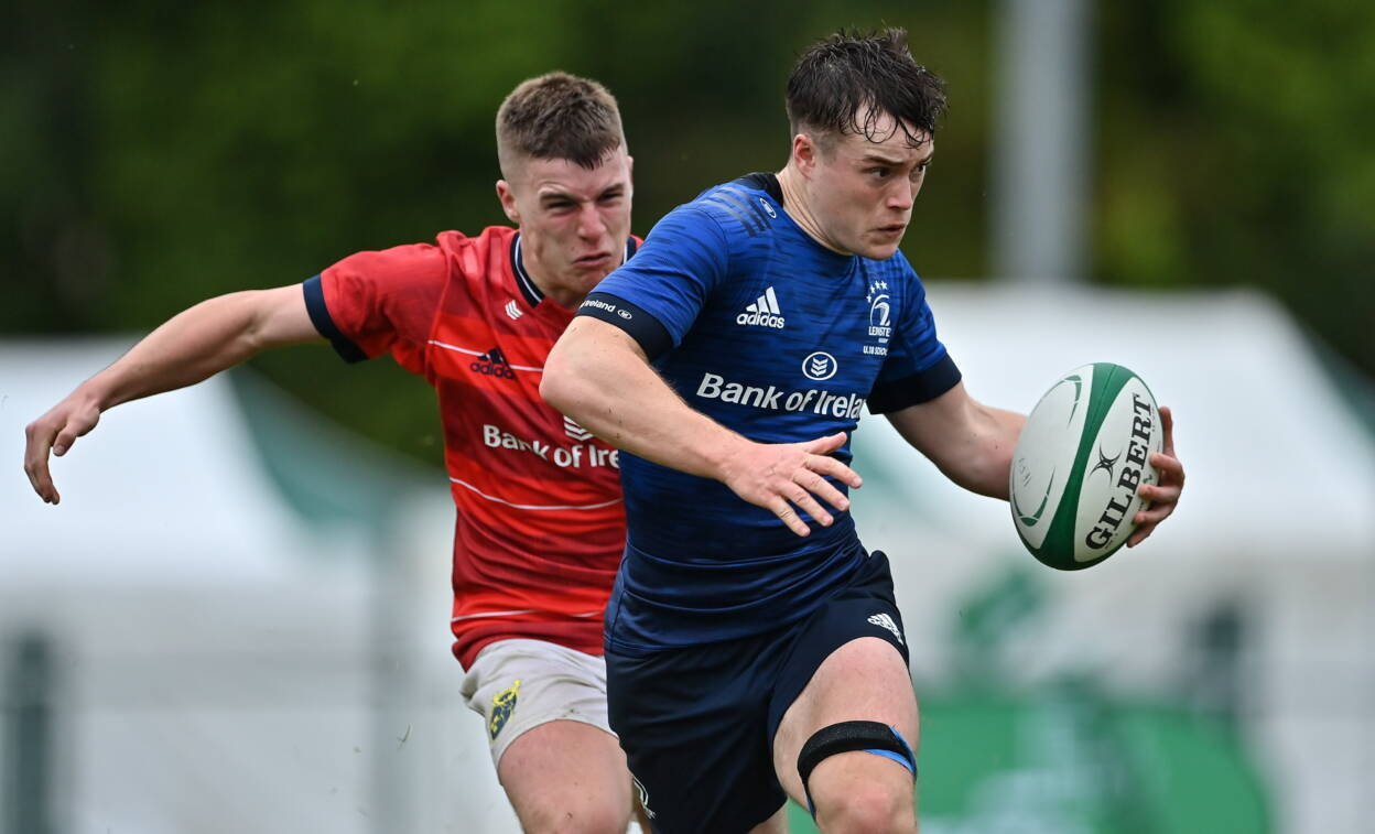 Leinster Storm Home To Seal U-18 Schools Title