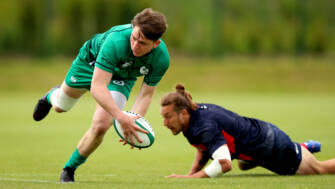 Ireland Young Guns Go Unbeaten On Day One In Vancouver