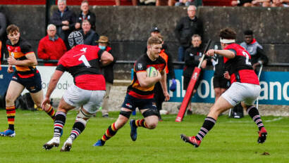 Silvester Swoops For Brace Of Tries On Lansdowne Debut
